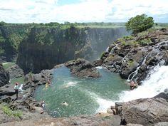 Angel's Pool, Victoria Falls, Zambia
