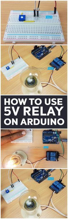 Arduino is a microcontroller based prototyping board that runs on small DC power. A Relay is a device that helps microcontrollers (or microcontroller based boards) like Arduino to switch on or off different household appliances like motors, lights, water heaters, television and fans etc.