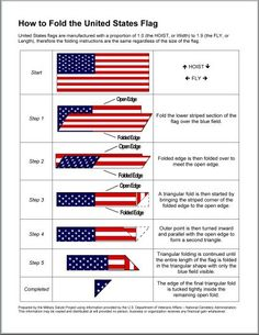 Folding Hacks - How to fold a Flag from The Joyful Organizer American Heritage Girls, American History, Cub Scouts Wolf, Cub Scout Activities, Arrow Of Lights, Brownie Girl Scouts, Boy Scout Troop, I Love America, Eagle Scout
