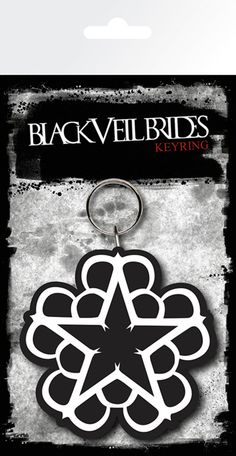 Black Veil Brides - Star - Rubber Key Ring