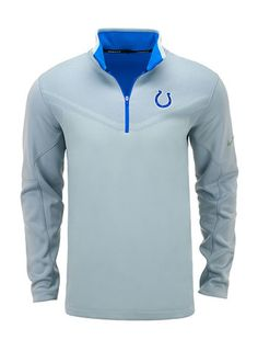 Nike Colts Hypervis 1 2 Zip Therma-fit Jacket 06c296ed6ce3a
