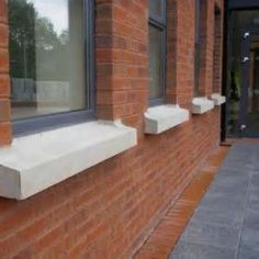 Stone window sills cast stone sills cast stone sill brick exterior ideas pinterest see for How to repair exterior window sill