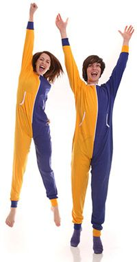 Funzee pajamas are made up from soft fabric that makes us touch it again and again and the person who wears it is huggable and appealing. Adult Onesie Pajamas, Fighting A Cold, Union Suit, One Piece Pajamas, Polar Fleece, Blue Gold, Soft Fabrics, Parachute Pants, Harem Pants