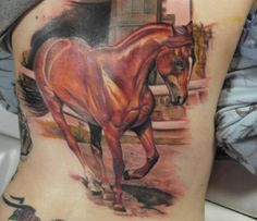 More awesome horse tattoos.