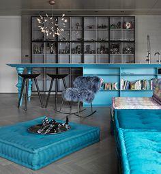 Piękne wnętrza: surowo i delikatnie, projekt wnętrza: Ganna Design, fot. Siew Shien Sam / MWphotoinc