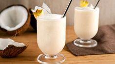 Smoothie à la noix de coco, une boisson crémeuse au goût de noix de coco, la recette est facile et simple à réaliser avec votre thermomix.