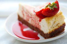 Imagen de strawberry, cake, and food