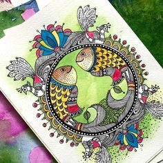 learn-madhubhani-painting-pencil-chai-junior