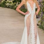 Romee Strijd sexy at the Atelier Pronovias 2019 Collection in Barcelona