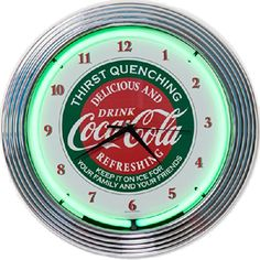 386 Best Coca Cola Clocks Amp Watches Images In 2019