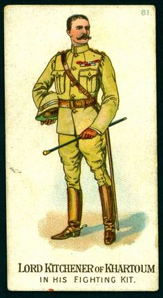 Cigarette Card - Lord Kitchener of Khartoum | Flickr - Photo Sharing!