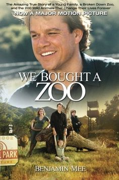 We Bought a Zoo: The Amazing True Story of a Young Family, a Broken Down Zoo, and the 200 Wild Animals that Changed Their Lives Forever by Benjamin Mee. $10.19. Publication: November 22, 2011. Author: Benjamin Mee. Publisher: Weinstein Books; Media tie-in, Movie tie-in edition (November 22, 2011)