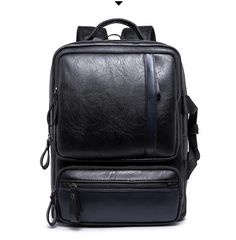 aa6caca76c10f Aliexpress.com   Buy New Arrival men Genuine Leather Backpacks Vintage  Style Travel Bags Fashion men School Bags Backpacks Casual Backpack for mens  from ...