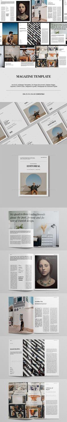 Magazine - #Magazines #Print Templates