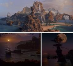 Neverland - Hook. I love the sets in this movie - I love the movie as a whole xD