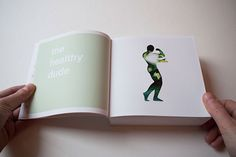 The Tiny Book Of Food Personalities on Behance