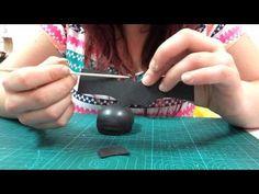 Diy zapatos fofucho elegantes El Rincón de Noe - YouTube