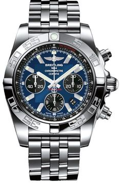 @breitling Watch Chronomat 44 Blackeye Blue Bracelet #add-content #bezel-unidirectional #bracelet-strap-steel #case-depth-16-95mm #case-material-steel #case-width-44mm #chronograph-yes #cosc-yes #date-yes #delivery-timescale-1-2-weeks #dial-colour-blue #gender-mens #luxury #movement-automatic #official-stockist-for-breitling-watches #packaging-breitling-watch-packaging #style-sports #subcat-chronomat #supplier-model-no-ab011012-c789-375a #warranty-breitling-official-2-year-gu...