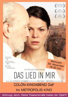 DaF November 2011 - Unser erster Film im wiedereröffneten METROPOLIS an der alten Wirkungsstätte (auch ein wundervoller Kinosaal).