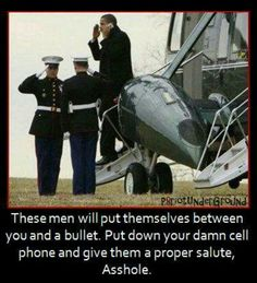 Anti-obama--- Now he's just being rude! How disrespectful... Ugh...