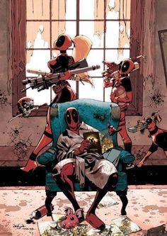 Conoce la fascinante historia de Deadpool - Batanga