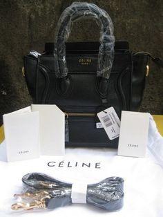 celine black leather tote - celine bag price philippines