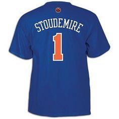 031c8dce4 NBA Men s New York Knicks Amar e Stoudemire  1 Name   Number Tee (Royal