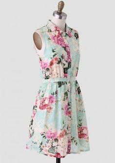 a floral dress by tulle modern vintage dresses