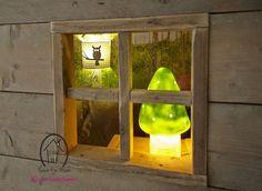 Een #Boskamer? #paddestoellamp