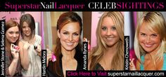 Wow look who wears superstar nail lacquer , www.styleshoppe.com  paparazzi pink