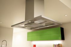 Ceiling: Unsual Light Silver Steel Broant Vent Hood For Modern ...