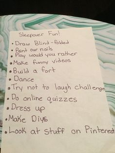 Fun things to do at a sleepover! Fun things to do at a sleepover! Sleepover Party Games, Things To Do At A Sleepover, Sleepover Crafts, Teen Sleepover, Fun Sleepover Ideas, Sleepover Birthday Parties, Fun Party Games, Fun Things, Ideas Party