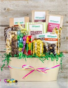 Sweet treats bestselling gourmet treats gift basket stew ultimate easter sweet treats gift basket easter gifts coupons sweets negle Images