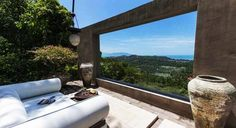 Tantalizing Villa Belle set hillside in Koh Sumai
