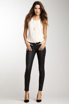 Love this look.  7 For All Mankind Skinny Jeans