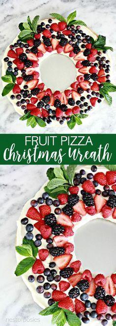 Fruit Pizza Christma
