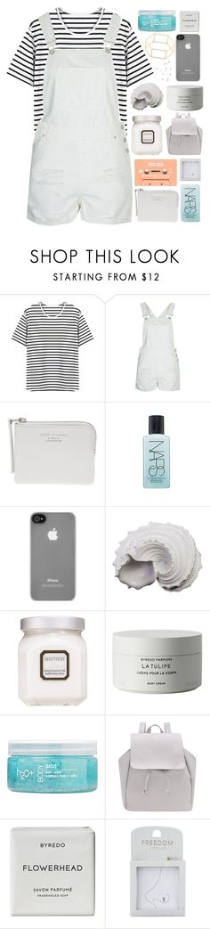 """""""i know what you did last summer"""" by pheachy ❤ liked on Polyvore featuring Topshop, Acne Studios, NARS Cosmetics, Incase, Urban Trends Collection, Laura Mercier, Byredo and H2O+"""