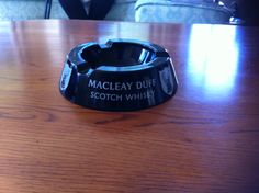 Macleay Duff ceramic ashtray made in England