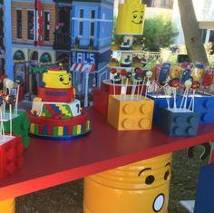 101 fiestas: Fiesta temática Lego