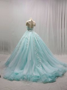 Have a truly Cinderella inspired wedding in this marvelous gown fit for your dream come true wedding day. #wedding #dress #cinderella wedding