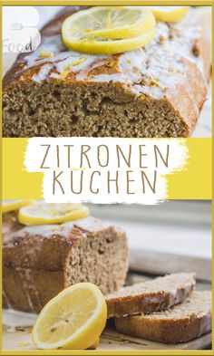 Zitronenkuchen Rezept - Saftig und kalorienarm - ohne Zucker  Dieses Rezept eines gesunden Zitronenkuchens ist super einfach und schnell nachzumachen. Ihr bekommt ein geschmacklich originalgetreuen und vor allem kalorienarmen Kuchen als Ergebnis!