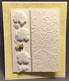 CGULL Embossing Folders BUTTERFLY FLORAL folders 12-0004 Insects Animals swirls #CGull