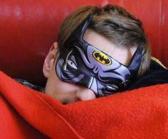 Transform yourself into your favorite crimefighter every night by hitting the hay with one of these superhero sleeping masks. Each mask features a high quality cartoon-like design of a half asleep superhero fighting to stay awake.