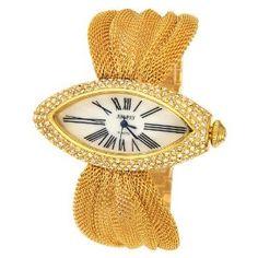 Women Luxury Gold Rhinestone Watches