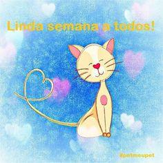 BOM DIA A TODOS! <3 #petmeupet #cachorro #gato #amoanimais #bomdia
