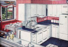 Vintage Kitchen with Nook