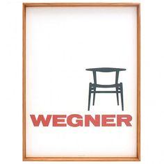 Hyldest til Wegner – Dagens Poster - Boligcious