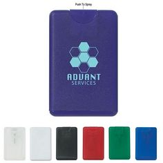 Promotional 20ml Card Shape Hand Sanitizer | Customized Hand Sanitizers | Promotional Hand Sanitizers