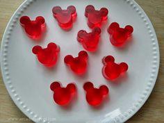 Gomas de gelatina caseira