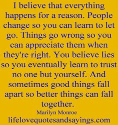 Firm believer in this; however sometimes it is harder to swallow than other times...